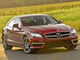 Mercedes-Benz CLS 63 AMG US-spec (C218) 2010 pictures