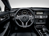 Mercedes-Benz CLS 63 AMG (C218) 2010 wallpapers