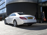 Mercedes-Benz CLS 350 CDI AMG Sports Package UK-spec (C218) 2010 wallpapers