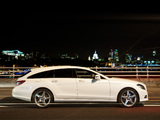 Mercedes-Benz CLS 350 CDI Shooting Brake AMG Sports Package UK-spec (X218) 2012 images