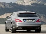 Mercedes-Benz CLS 63 AMG Shooting Brake (X218) 2012 images
