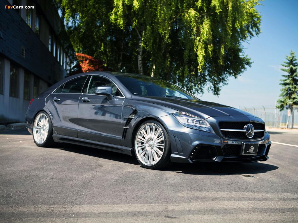SR Auto Mercedes-Benz CLS 63 AMG Project Maximus (C218) 2012 images (1024 x 768)