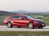 Mercedes-Benz CLS 500 4MATIC Shooting Brake AMG Sports Package (X218) 2012 images