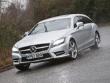 Mercedes-Benz CLS 350 CDI Shooting Brake AMG Sports Package UK-spec (X218) 2012 photos