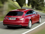 Mercedes-Benz CLS 500 4MATIC Shooting Brake AMG Sports Package (X218) 2012 photos