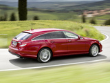 Mercedes-Benz CLS 500 4MATIC Shooting Brake AMG Sports Package (X218) 2012 pictures