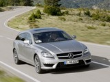 Mercedes-Benz CLS 63 AMG Shooting Brake (X218) 2012 pictures