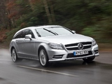 Mercedes-Benz CLS 350 CDI Shooting Brake AMG Sports Package UK-spec (X218) 2012 pictures