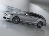 Mercedes-Benz CLS 63 AMG Shooting Brake (X218) 2012 wallpapers