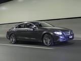 Photos of Mercedes-Benz CLS 350 CDI AU-spec (C218) 2010