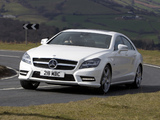 Photos of Mercedes-Benz CLS 350 CDI AMG Sports Package UK-spec (C218) 2010