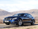 Photos of Mercedes-Benz CLS 63 AMG UK-spec (C218) 2011