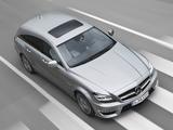 Photos of Mercedes-Benz CLS 63 AMG Shooting Brake (X218) 2012