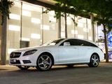 Photos of Mercedes-Benz CLS 350 CDI Shooting Brake AMG Sports Package UK-spec (X218) 2012