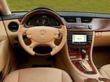 Pictures of Mercedes-Benz CLS 500 US-spec (C219) 2004–06