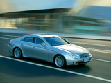 Pictures of Mercedes-Benz CLS 500 (S219) 2004–10