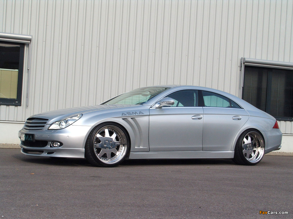 Pictures of Asma Design CLS Shark (C219) 2005–10 (1024 x 768)