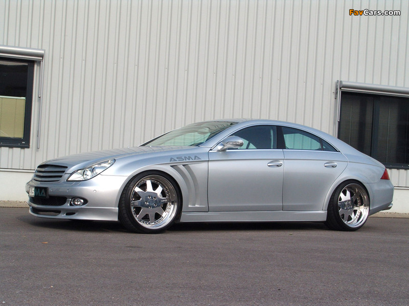 Pictures of Asma Design CLS Shark (C219) 2005–10 (800 x 600)