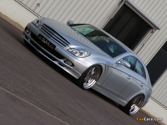 Pictures of Asma Design CLS Shark (C219) 2005–10 (640 x 480)