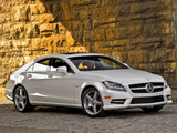 Pictures of Mercedes-Benz CLS 550 AMG Sports Package (C218) 2010