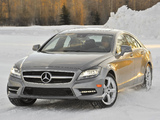 Pictures of Mercedes-Benz CLS 550 4MATIC AMG Sports Package (C218) 2010