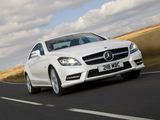Pictures of Mercedes-Benz CLS 350 CDI AMG Sports Package UK-spec (C218) 2010