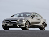 Pictures of Mercedes-Benz CLS 63 AMG (C218) 2010