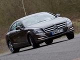 Pictures of Mercedes-Benz CLS 350 UK-spec (C218) 2010