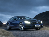 Pictures of Mercedes-Benz CLS 63 AMG UK-spec (C218) 2011