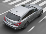 Pictures of Mercedes-Benz CLS 63 AMG Shooting Brake (X218) 2012