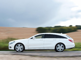 Pictures of Mercedes-Benz CLS 350 CDI Shooting Brake AMG Sports Package UK-spec (X218) 2012
