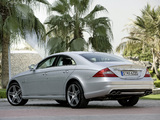 Mercedes-Benz CLS 63 AMG (C219) 2008–10 wallpapers