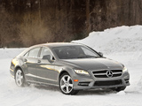 Mercedes-Benz CLS 550 4MATIC AMG Sports Package (C218) 2010 wallpapers