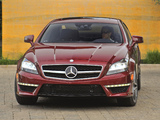 Mercedes-Benz CLS 63 AMG US-spec (C218) 2010 wallpapers