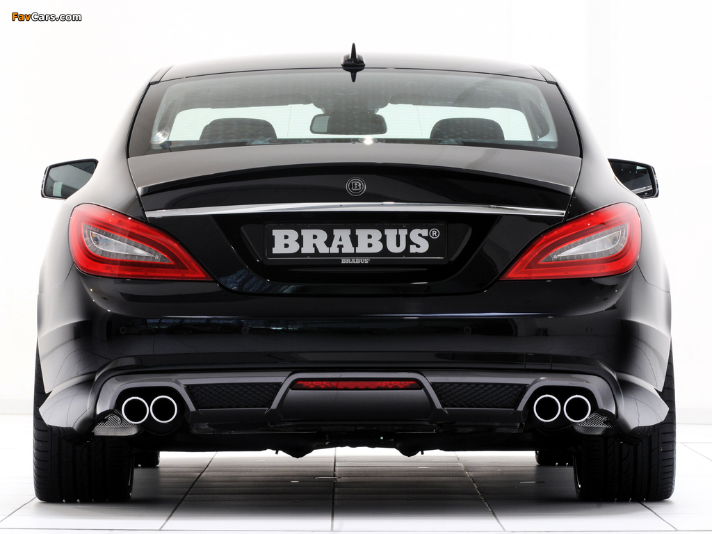 Brabus Mercedes-Benz CLS AMG Sports Package (C218) 2011 wallpapers (1024 x 768)