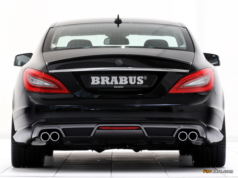 Brabus Mercedes-Benz CLS AMG Sports Package (C218) 2011 wallpapers (800 x 600)