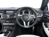 Mercedes-Benz CLS 63 AMG UK-spec (C218) 2011 wallpapers