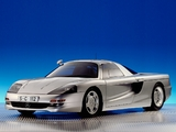 Photos of Mercedes-Benz C112 Concept 1991