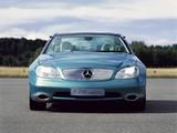Photos of Mercedes-Benz F200 Imagination Concept 1996