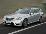 Images of Mercedes-Benz E 63 AMG Estate (S212) 2009–11