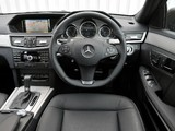 Images of Mercedes-Benz E 220 CDI AMG Sports Package UK-spec (W212) 2009–12