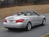 Images of Mercedes-Benz E 350 Cabrio US-spec (A207) 2010–12