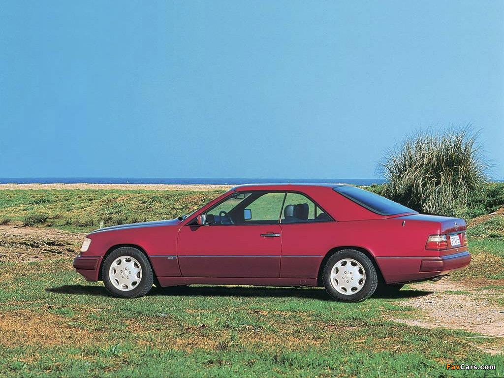 mercedes benz e klasse cabrio hard top a124 1993 97 wallpapers 1024x768. Black Bedroom Furniture Sets. Home Design Ideas