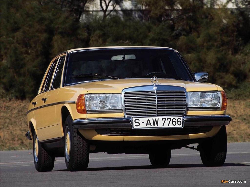 Mercedes Benz 280 E W123 1975 85 Wallpapers 1024x768