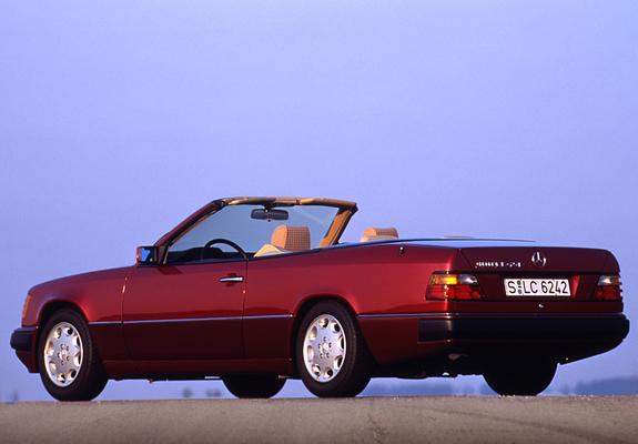 Mercedes Benz E Klasse Cabrio A124 1991 98 Images