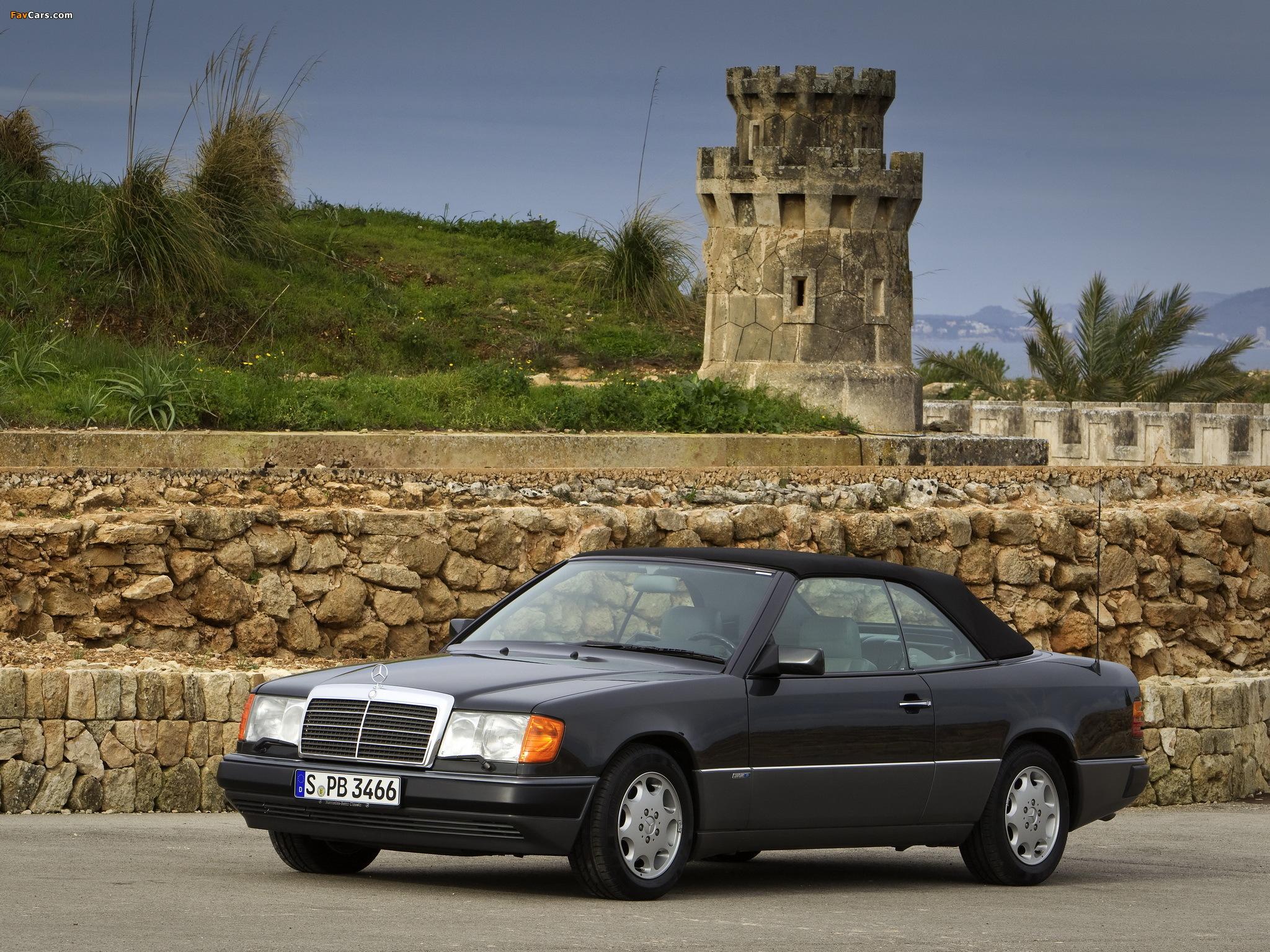 Mercedes Benz E Klasse Cabrio A124 1991 98 Wallpapers