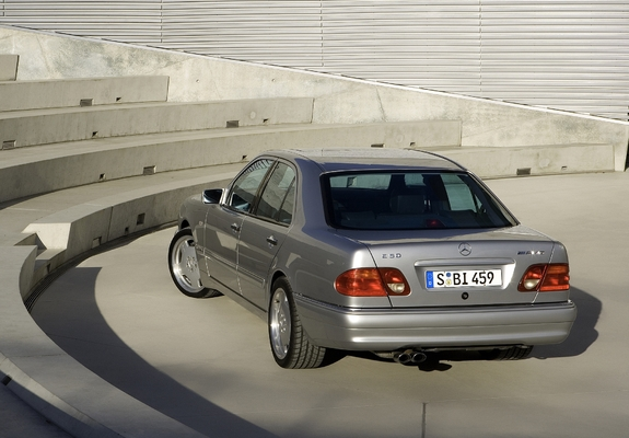 Mercedes benz e 50 amg w210 1996 97 wallpapers for 97 mercedes benz