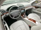 Mercedes-Benz E 350 US-spec (W211) 2004–06 pictures