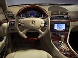 Mercedes-Benz E 500 (W211) 2006–09 images