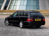 Mercedes-Benz E 320 CDI Estate UK-spec (S211) 2006–09 images